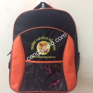 Công ty sản xuất balo quà tặng trường CD Viễn Đông chất lượng giá rẻ