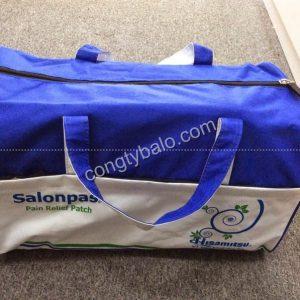 túi du lịch quang cáo Salonpas