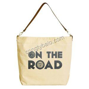 Đến với xưởng balo túi xách Hợp Phát may túi xách vải bố cavas