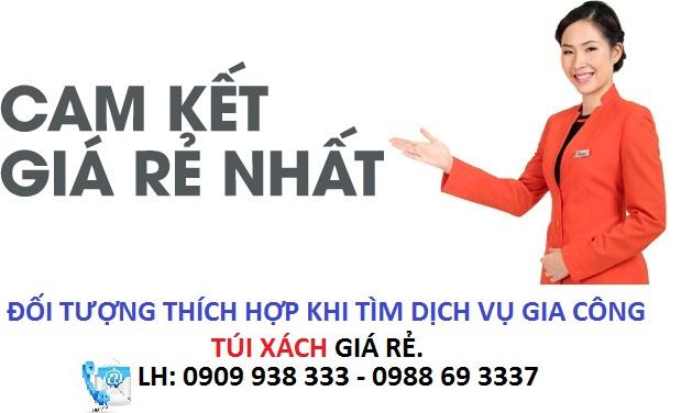Nhận may ba lô túi xách giá rẻ tại thành phố Hồ Chí Minh