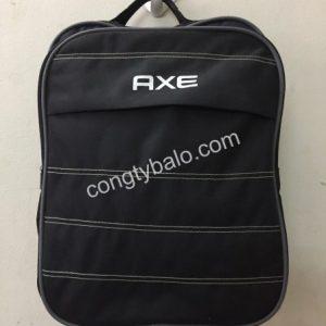 công ty may balo quà tặng quảng cáo AXE giá rẻ, chất lượng, miễn phí giao hàng tại tphcm