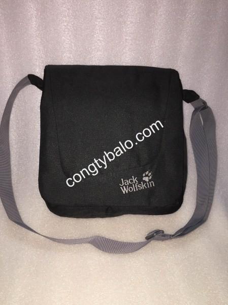 Túi đeo chéo vải bố Jack Wolfskin