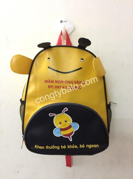 Balo trẻ em trường mầm non Ong Vàng