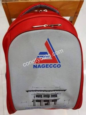 Balo laptop quảng cáo DNQT