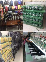 Cơ sở sản xuất balo học sinh