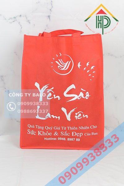 Túi Vải Không Dệt Yến Sào Lam Viên
