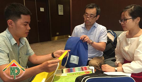 Đến khách sạn Sheraton Saigon để tư vấn khách hàng Nhật