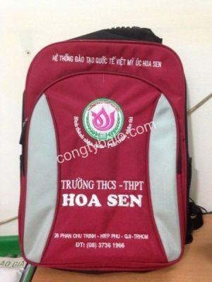 May Balo Học Sinh trường THCS-THPT Hoa Sen
