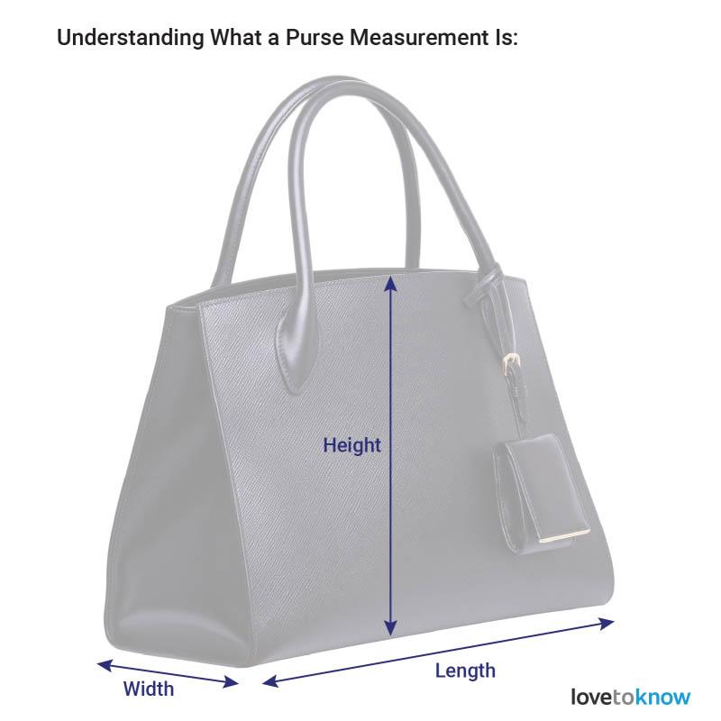 Các số đo quan trọng để tính kích thước túi xách