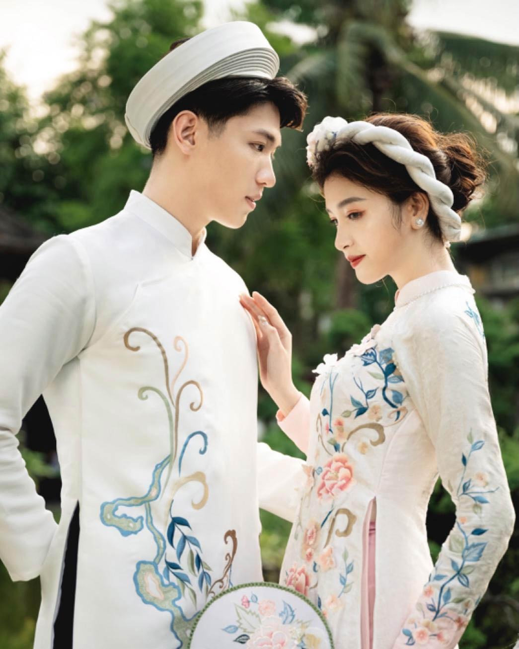 Mẫu áo truyền thống ngày cưới đẹp