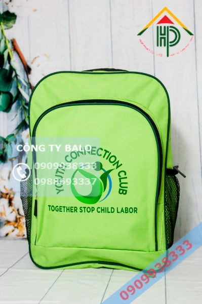 May Balo Học Sinh Young Connection Club