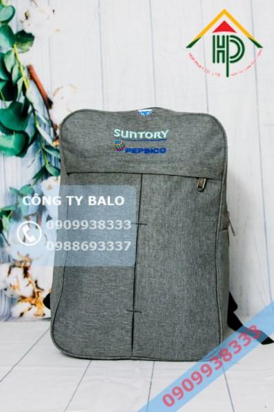 May Balo Quảng Cáo Suntory