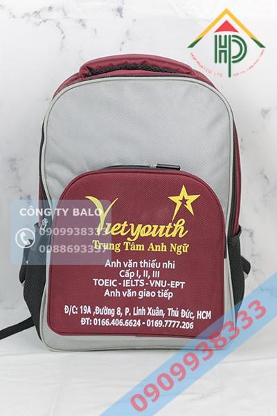 May Balo Trung Tâm Anh Ngữ Vietyouth