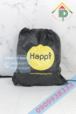May Túi Dây Rút Happy