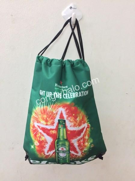 May Túi Dây Rút Heineken