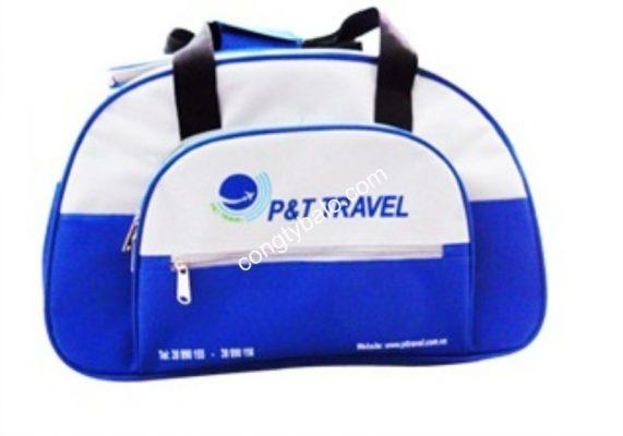May túi xách quảng cáo Travel