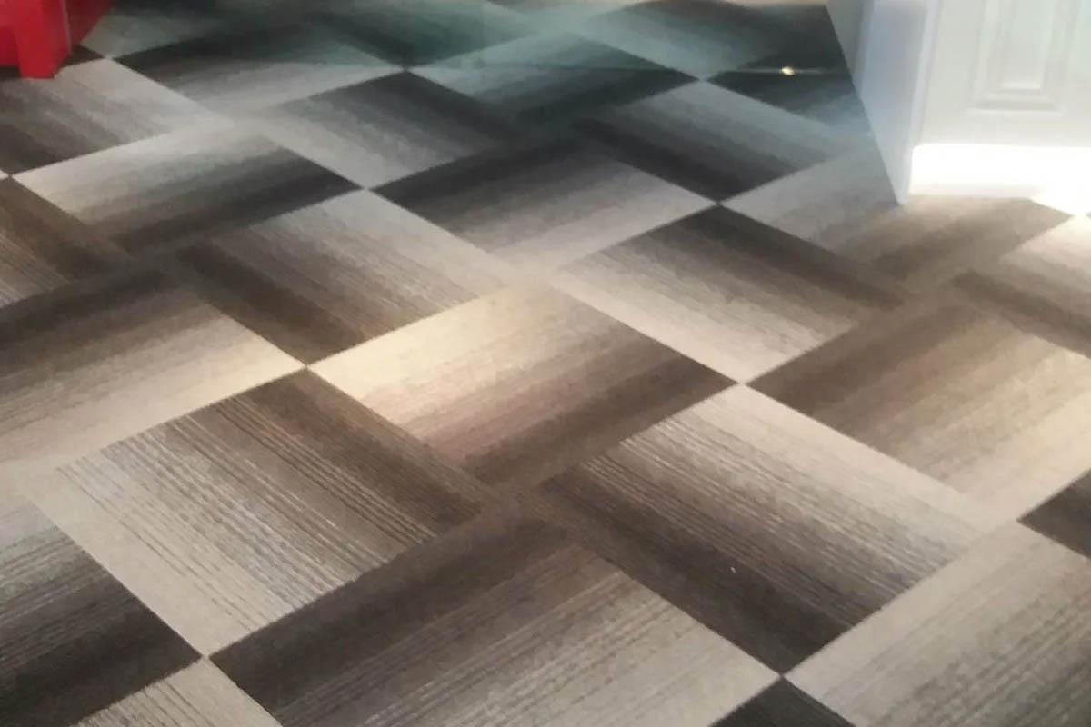 Thảm trải sàn vải nilon