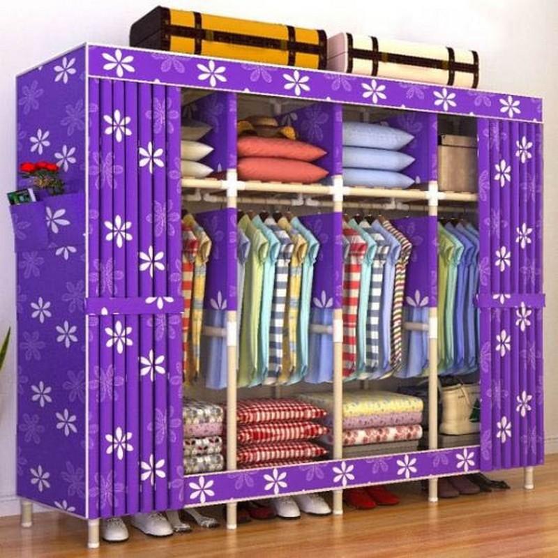 Tủ vải thông minh đựng quần áo