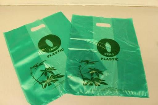 Túi nilon nguồn gốc từ thực vật thân thiện với môi trường