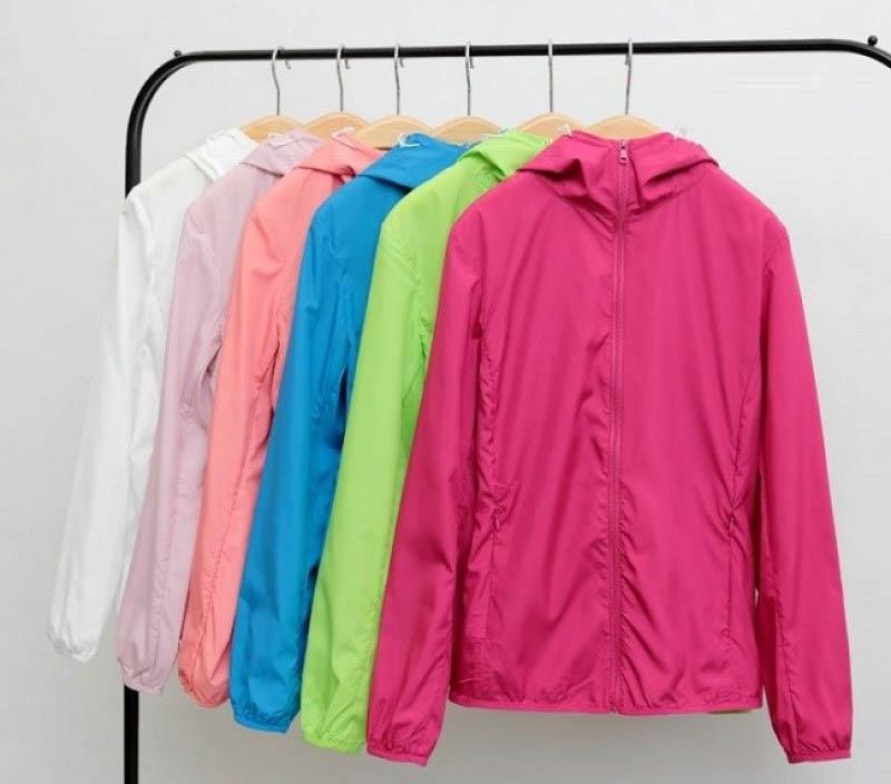 Ứng dụng Polyamide - để sản xuất áo khoác gió