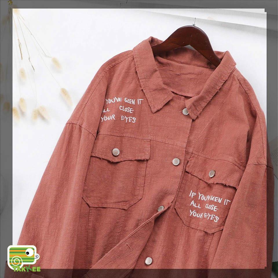 Vải thô làm áo khoác
