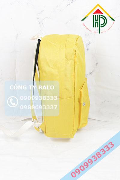 Mặt hong Balo thời trang màu Vàng