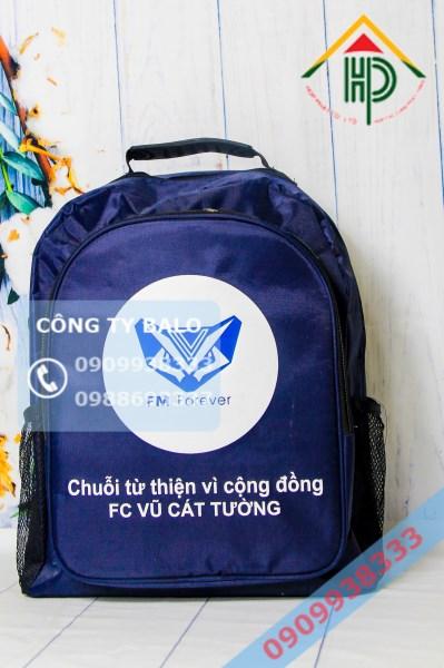 May Balo Quà Tặng FC Vũ Cát Tường