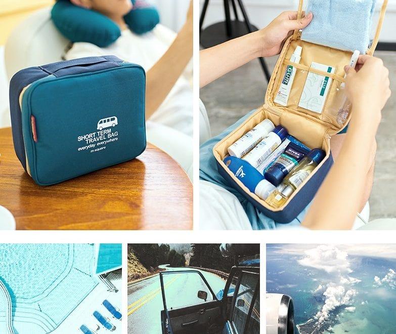 mẫu túi túi đựng mỹ phẩm du lịch