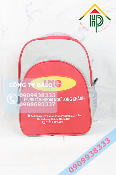 May Balo Anh Ngữ Long Khánh