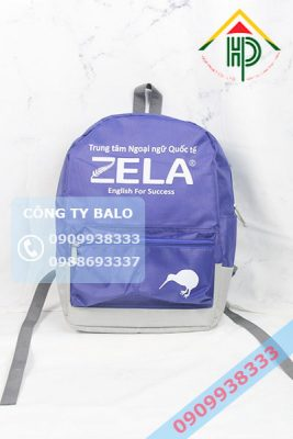 May Balo Anh Ngữ Zela