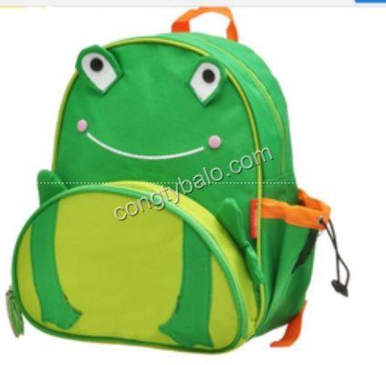 May balo cho trẻ em hình chú ếch