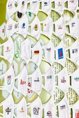 May khẩu trang kháng khuẩn in ấn logo theo yêu cầu