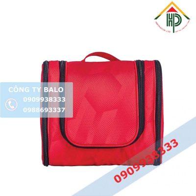 Túi đựng mỹ phẩm màu đỏ Hợp Phát
