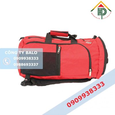 Túi xách du lịch màu đỏ Hợp Phát