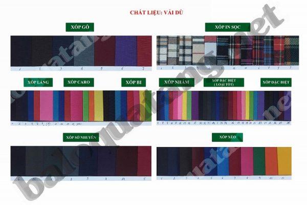 Vải bố polyester chống thấm nước