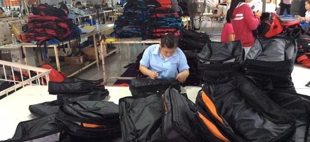 Xưởng may balo chất lượng được nhiều khách hàng yêu thích