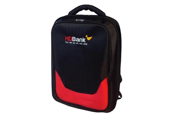 Balo quà tặng của ngân hàng HD Bank