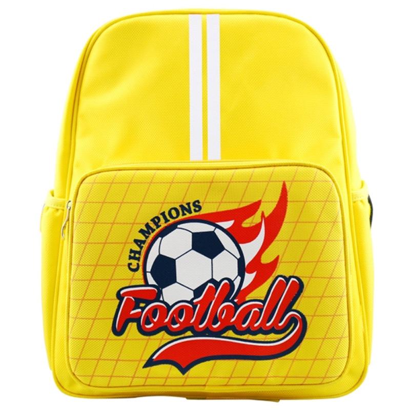 Cặp sách cấp 1 Football vàng
